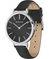Halcyon Days HD2003 Ladies Agama Sport Black Leather Strap Watch