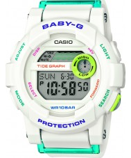 Casio BGD-180FB-7ER Ladies Baby-G World Time White Resin Strap Digital Watch