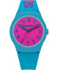 Superdry SYG164AUP Urban Teal Silicone Strap Watch