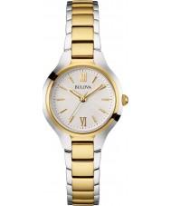 Bulova 98L217 Ladies Dress Two Tone Steel Bracelet Watch
