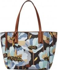 Fossil ZB6911992 Ladies Emma Dark Floral EW Tote Bag