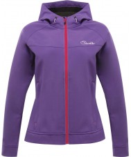 Dare2b DWL121-1KM16L Ladies Levity Royal Purple Softshell Jacket - Size UK 16 (XL)