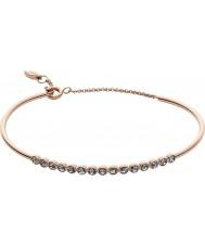 Fossil JF02485791 Ladies Rose Gold Steel Flex Bracelet
