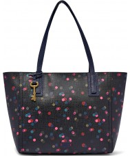 Fossil ZB6911400 Ladies Emma Navy Tote Bag