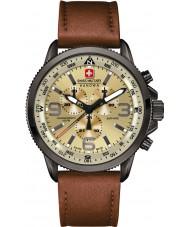 Swiss Military 6-4224-30-002 Mens Arrow Chrono Beige Brown Watch
