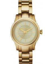 Karl Lagerfeld KL1220 Ladies Slim Chain Gold Steel Bracelet Watch