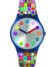 Swatch SUON122 Rounds and Squares Watch