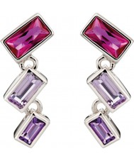Fiorelli E5186 Ladies Ombre Stones Earrings