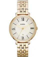 Fossil ES3434 Ladies Jacqueline Gold Tone Steel Bracelet Watch