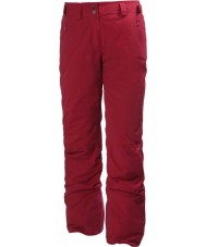 Helly Hansen 60364-203RRE-XS Ladies Legendary Raspberry Ski Pants - Size XS