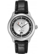 Dreyfuss and Co DGS00110-04 Mens Automatic Black Leather Strap Watch