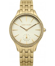 Karen Millen KM112GMA Ladies Gold Plated Bracelet Watch