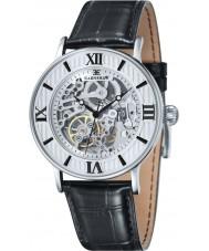 Thomas Earnshaw ES-8038-02 Mens Darwin Black Croco Leather Strap Watch