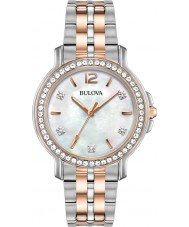 Bulova 98L242 Ladies Crystal Watch