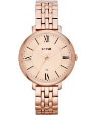Fossil ES3435 Ladies Jacqueline Rose Gold Plated Bracelet Watch