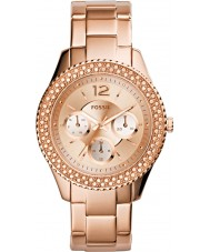 Fossil ES3590 Ladies Stella Rose Gold Plated Watch