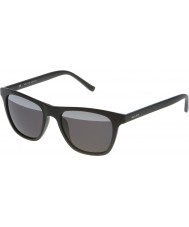 Police Mens Hot 1 S1936V-U28H Semi Matt Black Mirrored Sunglasses