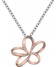 Hot Diamonds DP612 Ladies Paradise Rose Gold Plated Necklace
