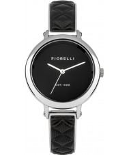 Fiorelli FO021BS Ladies Black Leather Watch