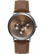 Zoom ZM-7117M-2517 Coffee Moment Brown Watch