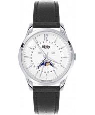 Henry London HL39-LS-0083 Ladies Edgware Black Leather Strap Watch