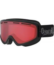 Bolle 21485 Schuss Shiny Black - Vermillon Gun Ski Goggles