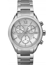 Timex TW2P93600 Ladies City Miami Silver Steel Bracelet Watch