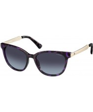 Polaroid Ladies PLD5015-S LYK WJ Violet Havana Gold Polarized Sunglasses