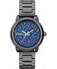 Diesel DZ5428 Ladies Flare Rainbow Gunmetal IP Watch
