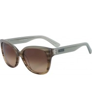 Calvin Klein Collection CK7954S Blue Brown Horn Sunglasses