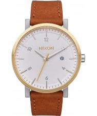 Nixon A945-2548 Mens Rollo Tan Horween Leather Strap Watch