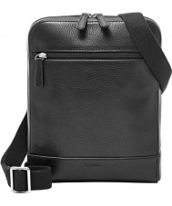 Fossil MBG9264001 Mens Rory Black Messenger Bag