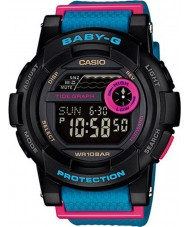 Casio BGD-180-2ER Ladies Baby-G G-Lide Black Blue Watch