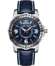 Dogfight DF0017 Mens Ace Blue Leather Strap Watch
