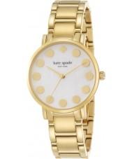 Kate Spade New York 1YRU0737 Ladies Gramercy Dot Gold Plated Bracelet Watch