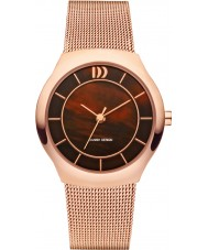 Danish Design V67Q1132 Ladies Rose Gold Plated Mesh Bracelet Watch