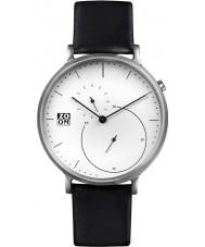 Zoom ZM-7140M-2501 Mens Pure White Black Watch