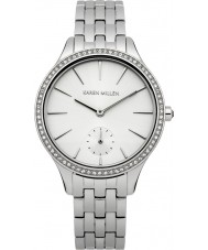 Karen Millen KM112SMA Ladies Silver Steel Bracelet Watch