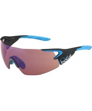 Bolle 5th Element Pro Matt Carbon Blue Rose-Blue Sunglasses