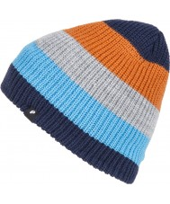 Protest Mens Lake Ground Blue Beanie