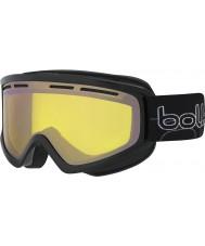 Bolle 21486 Schuss Shiny Black - Lemon Gun Ski Goggles