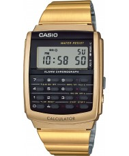 Casio CA-506G-9AEF Mens Collection Gold Tone Calculator Watch