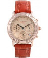 Krug Baümen 150575DM Principle Diamond Mens Rose Gold Chronograph Watch