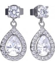 Diamonfire E5594 Ladies Brilliant Earrings