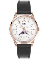 Henry London HL39-LS-0150 Richmond Rose Gold Black Watch