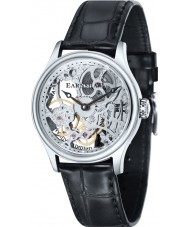 Thomas Earnshaw ES-8049-01 Mens Bauer Black Mechanical Skeleton Watch