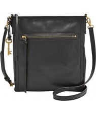 Fossil ZB6915001 Ladies Emma Black NS Cross Body Bag