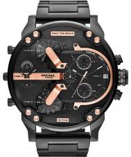 Diesel DZ7312 Mens Mr Daddy 2.0 Black IP Multifunction Watch
