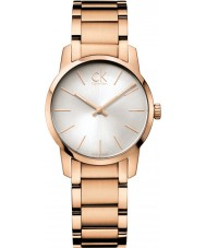 Calvin Klein K2G23646 Ladies City Rose Gold PVD Watch