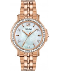 Bulova 98L243 Ladies Crystal Watch